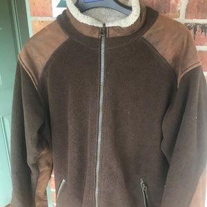 Alf- Kuhl- jacket. Fleece. Vintage. Large. Great!